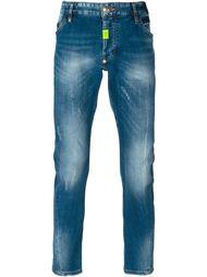 джинсы прямого кроя 'Goose'  Philipp Plein