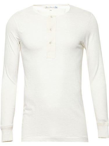 футболка 'Henley' Merz B. Schwanen