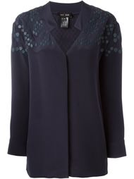 блузка с контрастным узором Jay Ahr