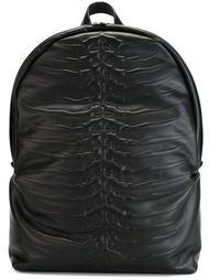 рюкзак с тиснением в виде позвоночника Alexander McQueen