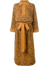 платье-свитер с поясом Yves Saint Laurent Vintage