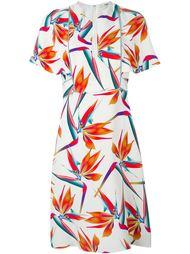 платье с принтом райских птиц Fendi