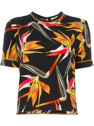 блузка с принтом Bird of Paradise Fendi