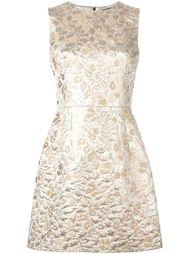жаккардовое платье А-образного силуэта Dolce & Gabbana