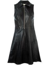 расклешенное платье с застежкой-молнией  Michael Michael Kors