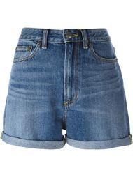 джинсовые шорты с вышивкой вишен Marc By Marc Jacobs