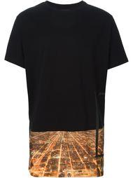 футболка с принтом Чикаго Letasca
