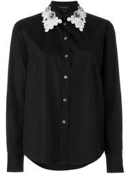 рубашка с вышивкой на воротнике Marc Jacobs