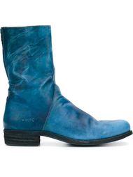 ботинки с асимметричной молнией A Diciannoveventitre