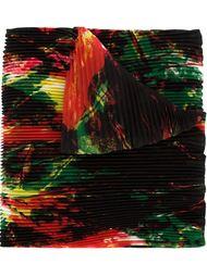 шарф с абстрактным принтом Issey Miyake