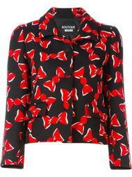 куртка с принтом бантиков Boutique Moschino