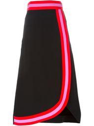 юбка миди с контрастной окантовкой Roksanda