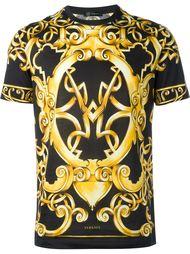 """футболка с принтом в стиле """"барокко"""" Versace"""