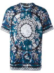 футболка с цветочным принтом Versace