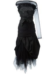 платье из органзы  Romeo Gigli Vintage