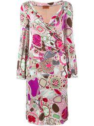 платье с принтом  Missoni Vintage