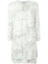 платье с накидкой  Chanel Vintage