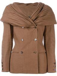 двубортная куртка  Claude Montana Vintage