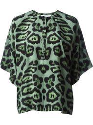 топ с леопардовым принтом Givenchy
