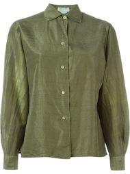 атласная рубашка  Emilio Pucci Vintage