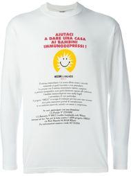 футболка с длинными рукавами  Moschino Vintage