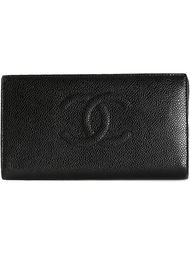 складной кошелек с логотипом Chanel Vintage