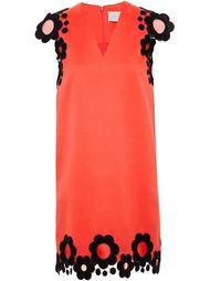платье с цветочной аппликацией Christopher Kane