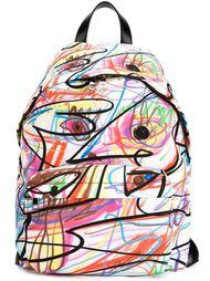 рюкзак с принтом  Jeremy Scott