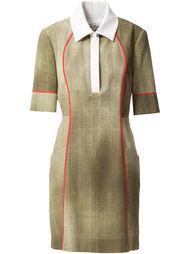 платье с воротником-поло Fendi