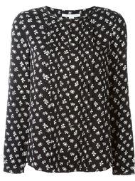 блузка с цветочным принтом Diane Von Furstenberg