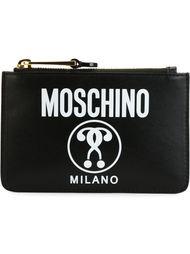 кошелек с принтом  Moschino