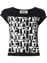 футболка с графическим принтом Jeremy Scott