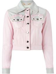 укороченный пиджак Bag Bugs  Fendi
