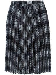 плиссированная юбка в клетку Michael Michael Kors
