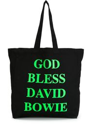 сумка-тоут Jeremy Deller God Bless David Bowie House Of Voltaire
