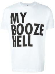 футболка Jeremy Deller My Booze Hell House Of Voltaire