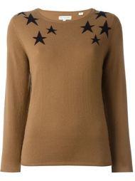 свитер со сзездами Chinti And Parker