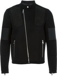 байкерская куртка с панельным дизайном Neil Barrett