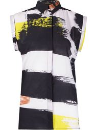 abstract print shirt Andrea Marques