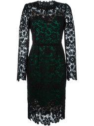 платье макраме с цветочным узором Dolce & Gabbana