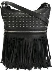 сумка на плечо с бахромой Diesel Black Gold