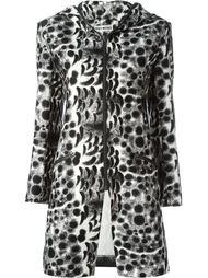 пальто с капюшоном Issey Miyake Vintage