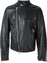 кожаная куртка Diesel Black Gold
