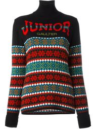 свитер с логотипом  Jean Paul Gaultier Vintage