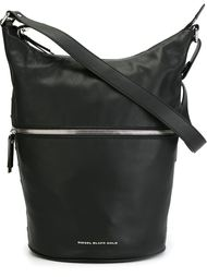 сумка-хобо на плечо молнией Diesel Black Gold