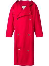 пальто свободного кроя с капюшоном Jc De Castelbajac Vintage