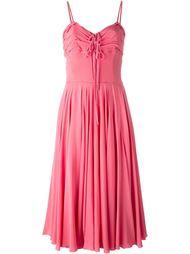 платье на бретельках Christian Dior Vintage