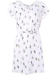 платье с принтом кактусов Kenzo