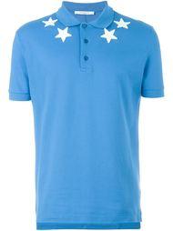 футболка-поло с нашивками-звездами Givenchy