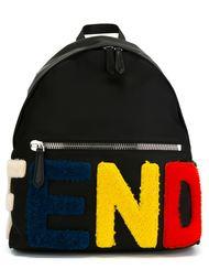 рюкзак с логотипом Fendi